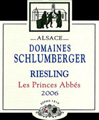 2006 DOMAINES SCHLUMBERGER RIESLING LES PRINCES ABBES 750ML