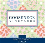 2017 GOOSENECK VINEYARDS PINOT GRIGIO 750ML