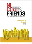 2014 NICOLE & FRIENDS SAUVIGNON BLANC 750ML