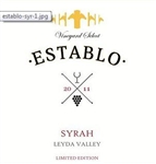 2011 ESTABLO SYRAH 750ML