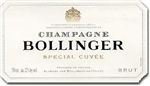 BOLLINGER CHAMPAGNE SPECIAL CUVEE 375ML
