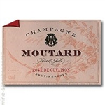 CHAMPAGNE MOUTARD BRUT ROSE CUVAISON 750ML