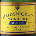 HEIDSIECK & CO MONOPOLE BRUT BLUE TOP 750ML