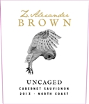 2013 Z ZAC BROWN UNCAGED CABERNET 750ML
