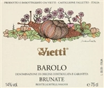 2012 VIETTI BAROLO BRUNATE 750ML
