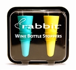 RABBIT BOTTLE STOPPERS 2 PACK