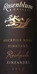 2013 ROSENBLUM ROCKPILE ROAD VINEYARD ZINFANDEL 750ML