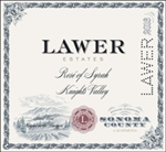 2016 LAWER ESTATE ROSE OF SYRAH KNIGHTS VALLEY 750ML