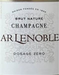 A. R. LENOBLE CHAMPAGNE BRUT NATURE DOSAGE ZERO 750ML