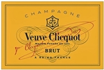 VEUVE CLICQUOT YELLOW LABEL BRUT CHAMPAGNE 1.5L