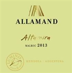 "2014 ALLAMAND ALTAMIRA MALBEC ""750ML"""