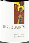 2012 THREE SAINTS PINOT NOIR 750ML