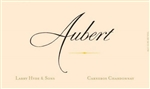 "2015 AUBERT CHARDONNAY LARRY HYDE AND SONS CHARDONNAY ""750ML""*"