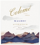 2018 BODEGA COLOME MALBEC SALTA 750ML