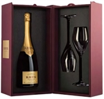 KRUG SHARING SET WITH 2 GLASSES 750ML