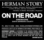 2013 HERMAN STORY ON THE ROAD GRENACHE 750ML