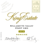 2019 KING ESTATE PINOT GRIS DOMAINE 750ML