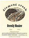 2015 DIAMOND CREEK CABERNET SAUVIGNON GRAVELLY MEADOW 750ML