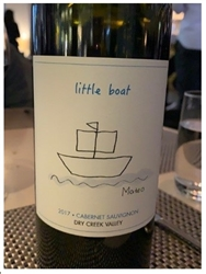 "2017 LITTLE BOAT DRY CREEK VALLEY CABERNET SAUVIGNON ""750ML"""