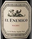 2014 EL ENEMIGO MALBEC 750ML