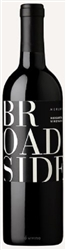 2014 BROADSIDE MERLOT MARGARITA VINEYARD 750ML