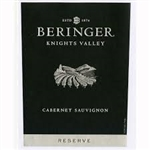 2014 BERINGER CABERNET SAUVIGNON KNIGHTS VALLEY RESERVE 750ML
