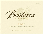 BONTERRA VINEYARDS ROSE ORGANIC 750ML