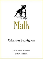 "2015 MALK FAMILY VINEYARDS CABERNET SAUVIGNON ""750ML"""
