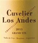 2015 CUVELIER LOS ANDES GRAND VIN 750ML