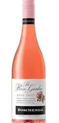 2018 BOSCHENDAL ROSE THE ROSE GARDEN 750ML