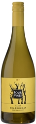 2017 FOUR VINES NAKED CHARDONNAY 750ML