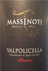 "2017 MASSINOTI VALPOLICELLA CLASSICO DOC ""750ML"""