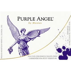 2016 MONTES CARMENERE PURPLE ANGEL 750ML