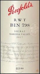 2017 PENFOLD SHIRAZ BOROSSA VALLEY RWT BIN 798 750ML