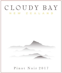 2017 CLOUDY BAY PINOT NOIR 750ML