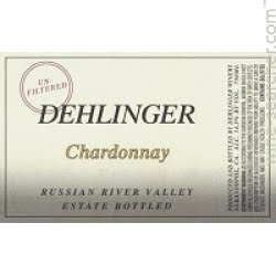 2017 DEHLINGER WINERY CHARDONNAY ESTATE UN-FILTERED 750ML