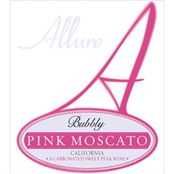 ALLURE BUBBLY PINK MOSCATO 750ML