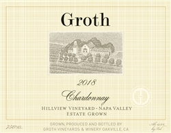 2018 GROTH CHARDONNAY HILLVIEW ESTATE 750ML