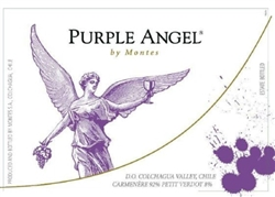 2017 MONTES CARMENERE PURPLE ANGEL 750ML