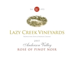 2015 LAZY CREEK ROSE OF PINOT NOIR 750ML