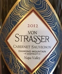 2012 VON STRASSER DIAMOND MOUNTAIN DISTRICT CABERNET SAUVIGNON 750ML