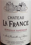 2015 CHATEAU LA FRANCE 750ML