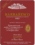 2011 BRUNO GIACOSA BARBARESCO ASILI RISERVA FALLETTO 750ML