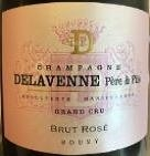 "DELAVENNE BRUT ROSE GRAND CRU ""750ML""*"