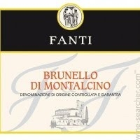 2013 FANTI BRUNELLO 750ML