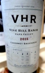 2015 VHR VINE HILL RANCH CABERNET 750ML