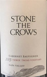 2013 STONE THE CROWS ESTATE CABERNET THREE TWINS VINEYARD 750ML