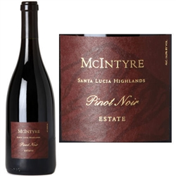 "2014 MCINTYRE VINEYARDS, SANTA LUCIA HIGHLANDS PINOT NOIR ""750ML"""