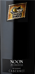 2016 NOON CABERNET RESERVE 750ML