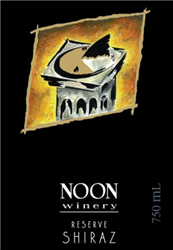 2016 NOON SHIRAZ RESERVE 750ML